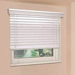 White Window Blinds Fauxwood Impressions 48004650 46 5 Inch By 48