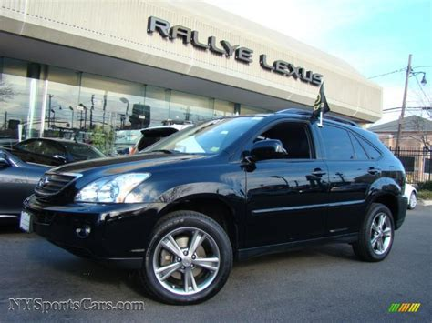 black lexus 2006 2006 lexus rx 400h awd hybrid in black onyx 007027