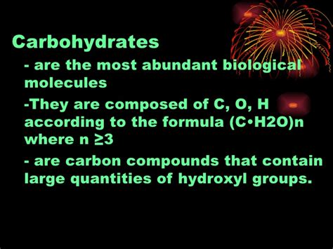 chapter 2 carbohydrates chapter 7 carbohydrates