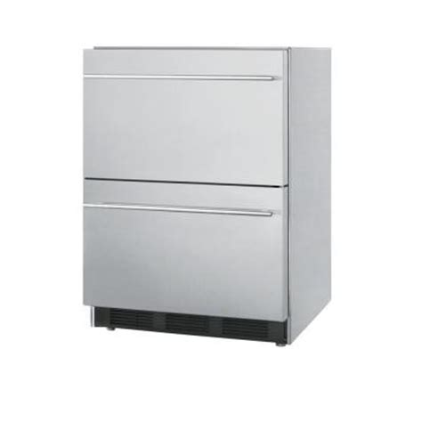 summit appliance 5 5 cu ft all refrigerator in stainless