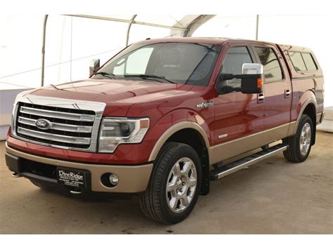 2013 Ford F150 4 Door Price by 2013 Ford F 150 Supercrew 4x4 For Sale In Meadow Lake Sk