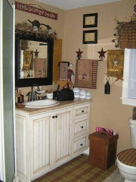 best 20 primitive bathroom decor ideas on