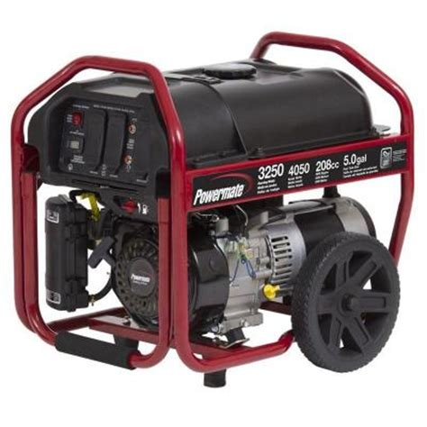 powermate 3 250 watt gasoline powered manual start
