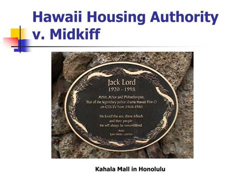 hawaii public housing authority ppt public interests in land powerpoint presentation id 5077630