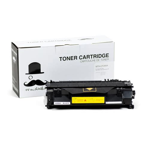 Toner Hp Laser Jet Cf280a Black compatible hp 80a cf280a black toner cartridge moustache 174 at inkjetsuperstore