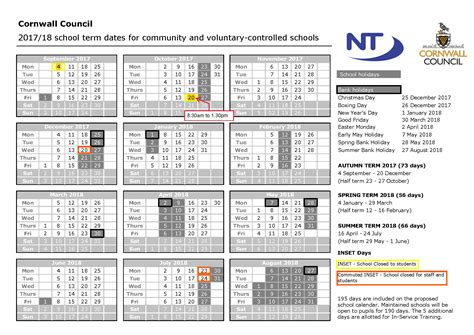 Calendar 2018 With School Holidays Uk April 2018 Bank 2018 Calendar With Holidays