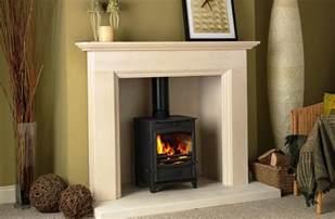 Log Surrounds Limestone Fireplace Surrounds For Wood Burners Fireplace
