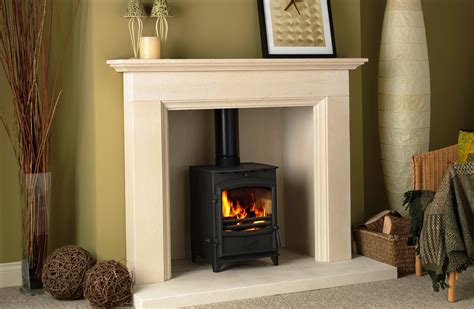 Fireplace Surrounds For Wood Burners by Limestone Fireplace Surrounds For Wood Burners Fireplace