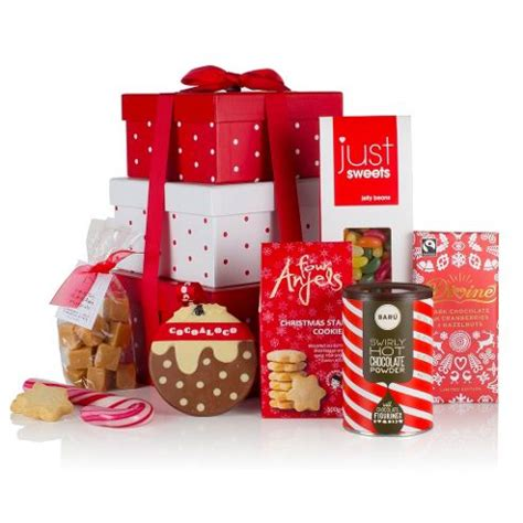 buy tower of christmas from our christmas food gifts