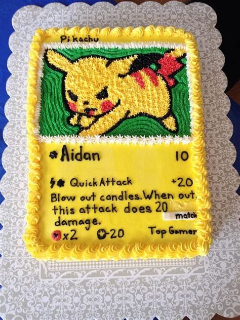 Pikachu Cake Template by Pikachu Birthday Cake Aidans Birthday