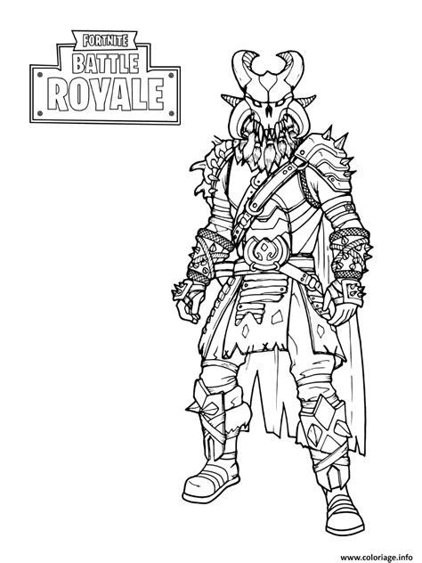 Coloriage Fortnite The Dark Viking dessin