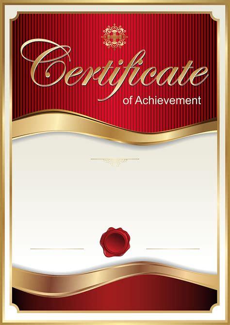certificate  achievement poster academic certificate