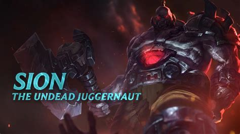 sion chion spotlight gameplay league of legends