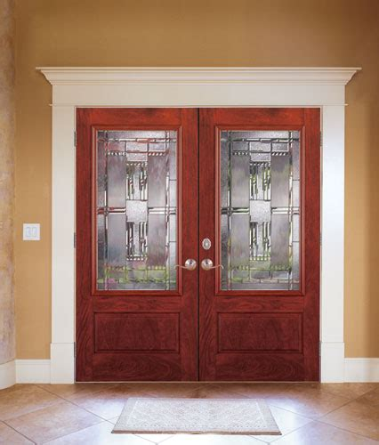 feather river door fiberglass entry doors mahogany doubl