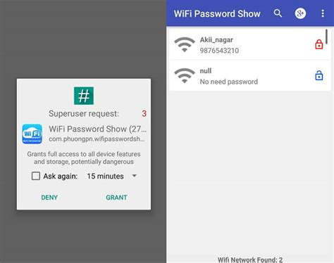 wifi app for android how to show wifi password android phone without root