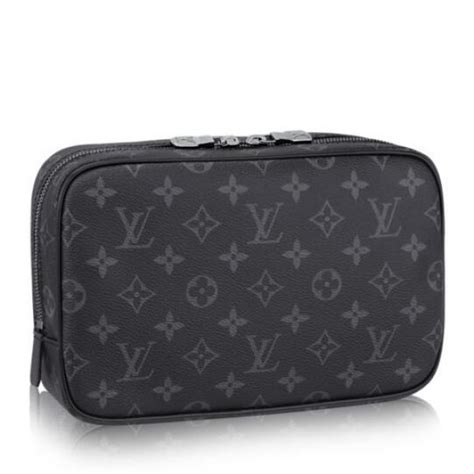 louis vuitton toiletry bag gm monogram eclipse