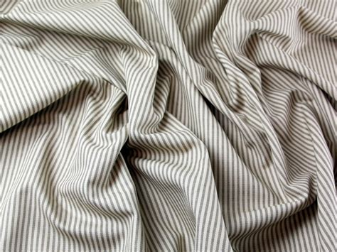 upholstery materials philippines ticking stripe soft cotton canvas dress fabric ph fur005