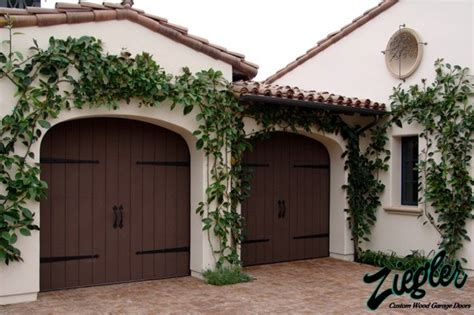 spanish style garage eco spanish colonial garage doors eclectic garage
