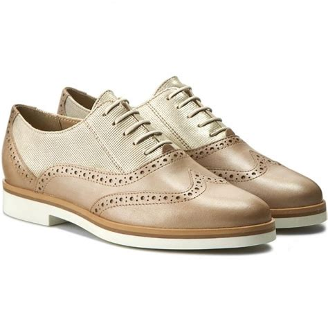 geox oxford shoes oxfords geox d janalee g d725ag 0skmr c2lh6 lt gold lt