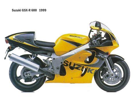 Suzuki Gsx R600 Specs 1999 Suzuki Gsx R 600 Pics Specs And Information