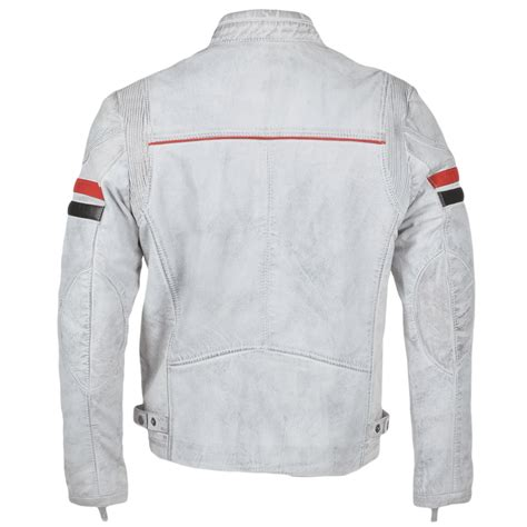 white leather motorcycle jacket mens leather biker jacket white berlin mens leather