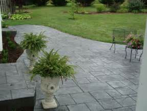 cost to install sted concrete patio per square foot