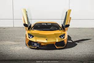 Lamborghini Aventador Gold Chrome Chrome Gold Lamborghini Aventador By Marcel Lech