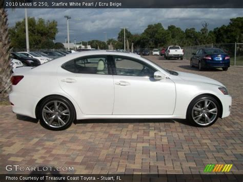 white lexus 2010 2010 white lexus is250