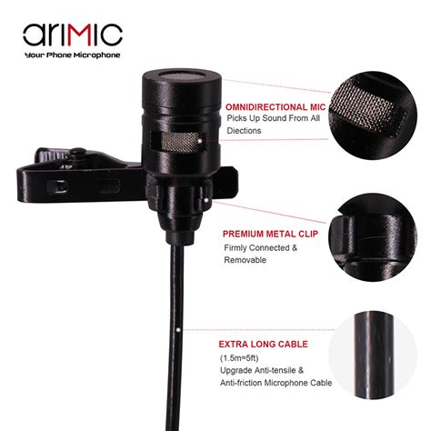condenser microphone price in india arimic dual clip on lapel microphone lavalier omnidirectional condenser recording mic for