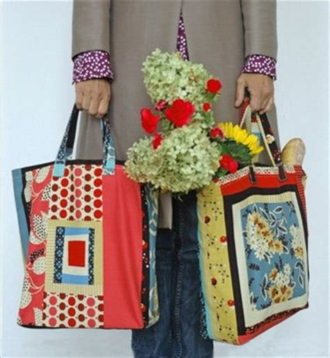 Patchwork Tote Bag Pattern Free - craft of patchwork patchwork tote bag free pattern