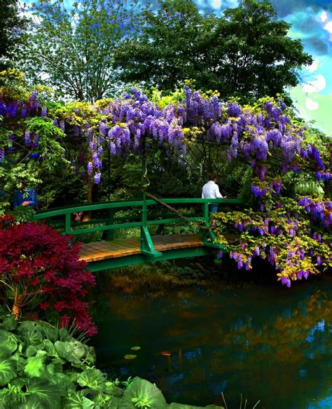 Lu Taman Standing 17 best images about monets garden on gardens