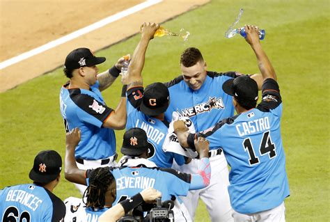 n y yankees aaron judge dominates mlb s home run derby