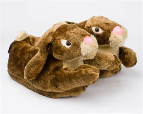 bunny rabbit slippers brown bunny rabbit slippers brown bunny slippers