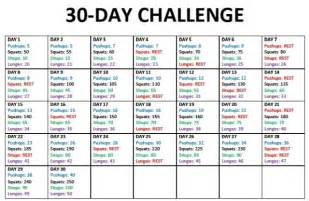 30 day body challenge love and curvy