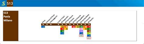 treni rogoredo pavia metropolitana linea s13 passante ferroviario