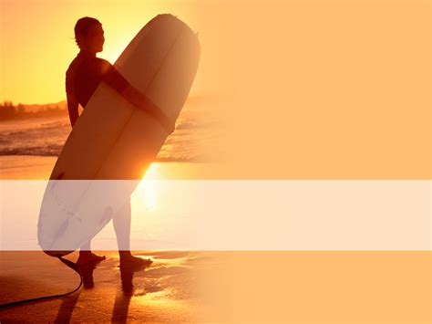 summer template powerpoint summer surf slide templates for powerpoint presentations