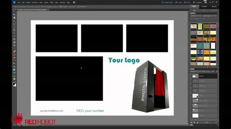 social booth templates how to make custom backgrounds and presets in social booth