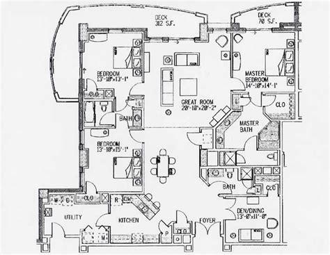 carolina club floor plan myrtle condo floor plans