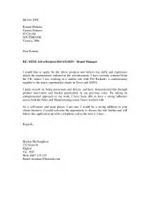 format for covering letter for application cover letter format for application for experienced