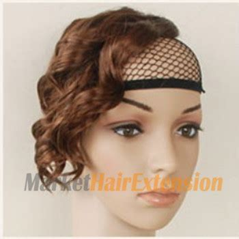 hair bangs pieces slightly curled wig bang flax yellow 1 piece only 22 95