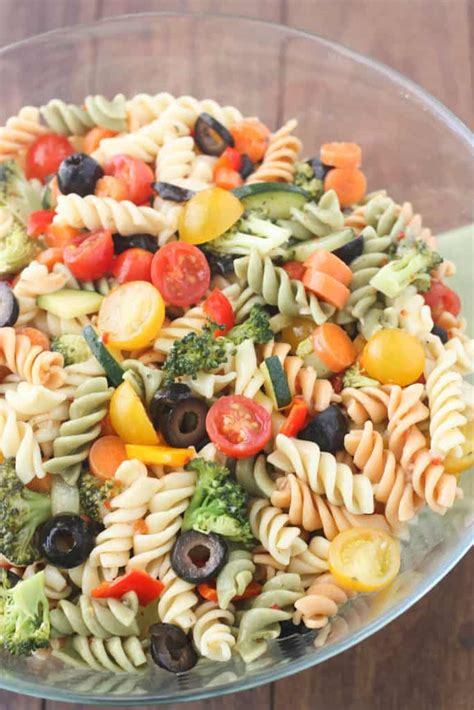 delicious pasta salad italian pasta salad tastes better from scratch