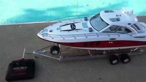 new bright rc boat rc new bright sea ray sundancer 48 custom paint job youtube