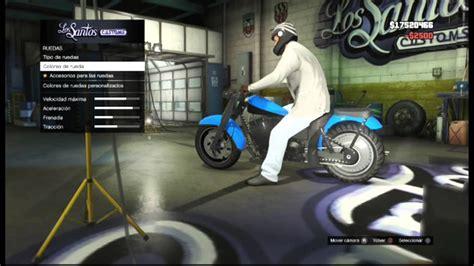 Motorrad Tuning Gta 5 by Gta V Modificando Moto De Franklin Gta 5 Modifying Bike