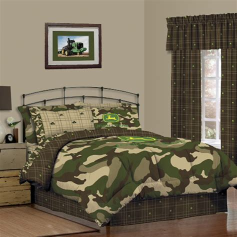 john deere bedding john deere camoflauge and green queen skirt