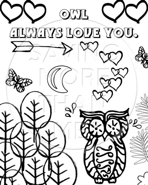 valentine owl coloring page valentine owl pages for adults coloring pages