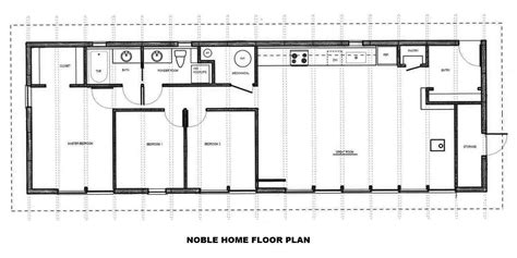 eco home floor plans gallery an eco friendly kit house designed for the owner builder noble home small house bliss