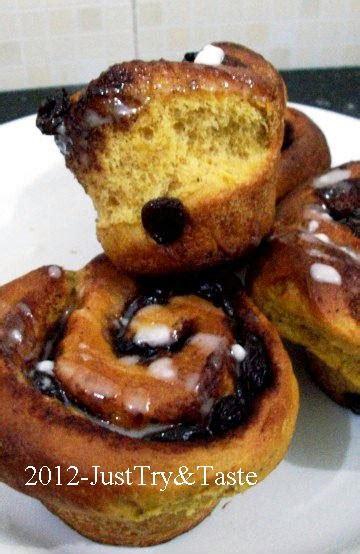 Buku Dua Kali Gagal Satu Kali Sukses obsesi roti 17 pumpkin cinnamon raisin rolls roti