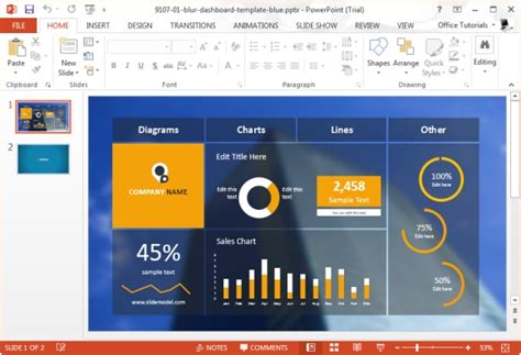 Making The Right Use Of Statistical Data In A Presentation Data Powerpoint Template
