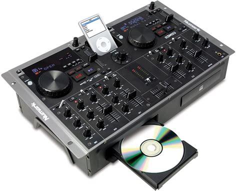 Mixer Numark numark icdmix 3 dualcd mp3 mixer with ipod dock pssl