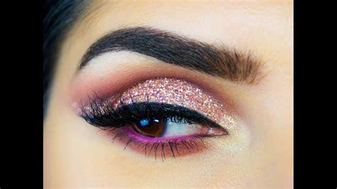 tutorial makeup huda beauty huda beauty textured rose gold eyeshadow tutorial sal qu